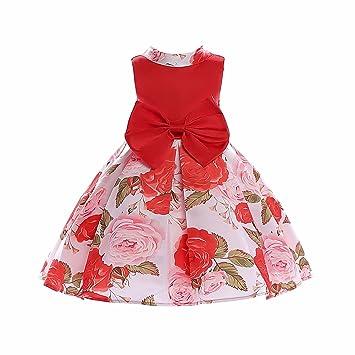 Mädchen Kleidung, DOTBUY Mode Mädchen Kinder Kleid Kleidung Kinder ...