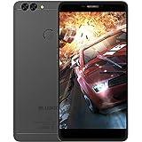 Bluboo Dual Smartphone Hintere Dual Kameras 2.0MP + 13.0MP 5.5 Zoll FHD Quad Core 16GB - Fingerabdruck Sensor - Handschuh Modus - Nass Hand Betrieb - Schwarz