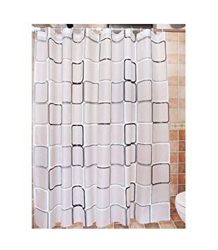 Amazoncom Beydodo White Shower Curtains With Matching Window