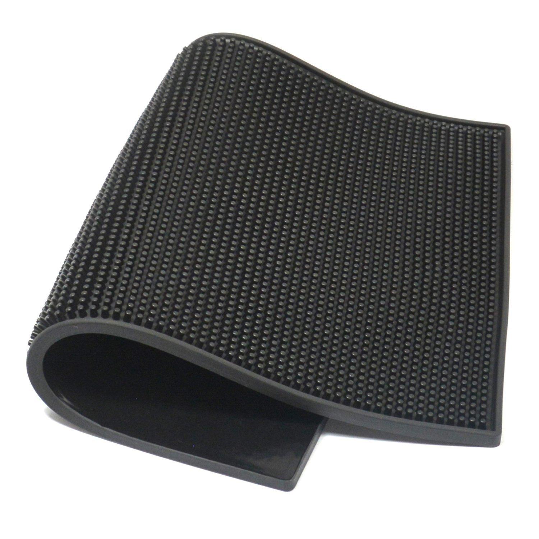 XtremeAuto/® Universal Fit Full Set of Car MATS Black XA8