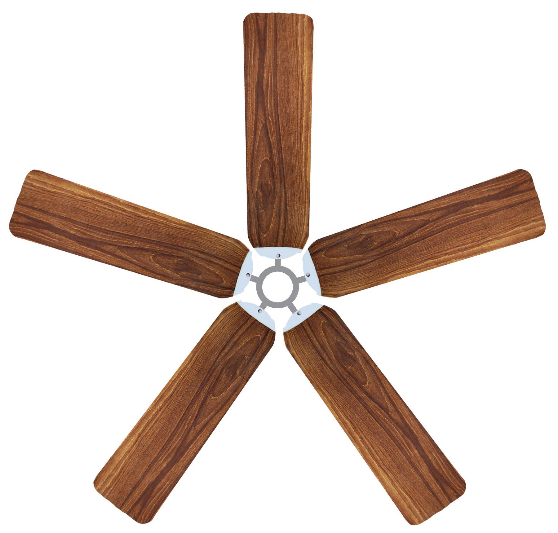 Fan Blade Designs Wood Ceiling Fan Blade Covers by Fan Blade Designs (Image #1)