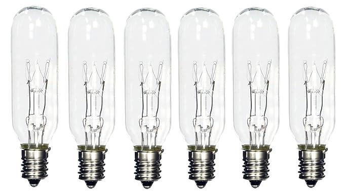 Shinebright 25 Watt Tubular Bulbs For Himalayan Salt Lamps Package