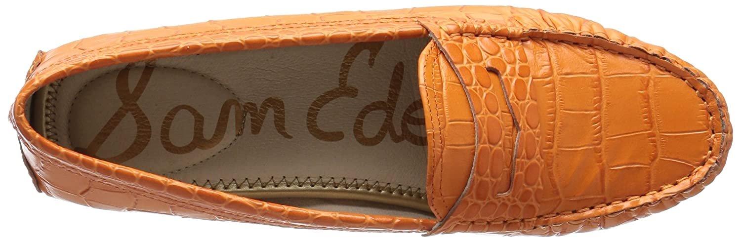 Sam Orange Edelman Filly Rund Leder Wohnungen Classic Orange Sam 103f6c