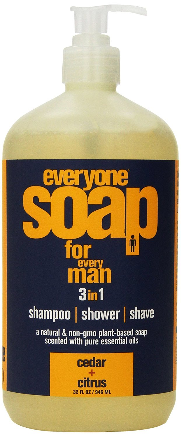 Eo Products Everyone Soap for Men, Cedar/Citrus, 32 Ounce Everready First Aid S1175470N