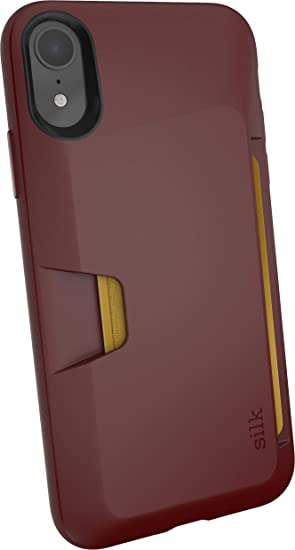 official photos bef72 605b6 Smartish iPhone XR Wallet Case - Wallet Slayer Vol. 1 [Slim + Protective]  Credit Card Holder for Apple iPhone 10R (Silk) - Red Rover Red Rover