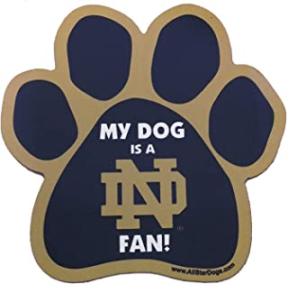 product image for NCAA Notre Dame Fighting Irish Paw Shaped Magnet