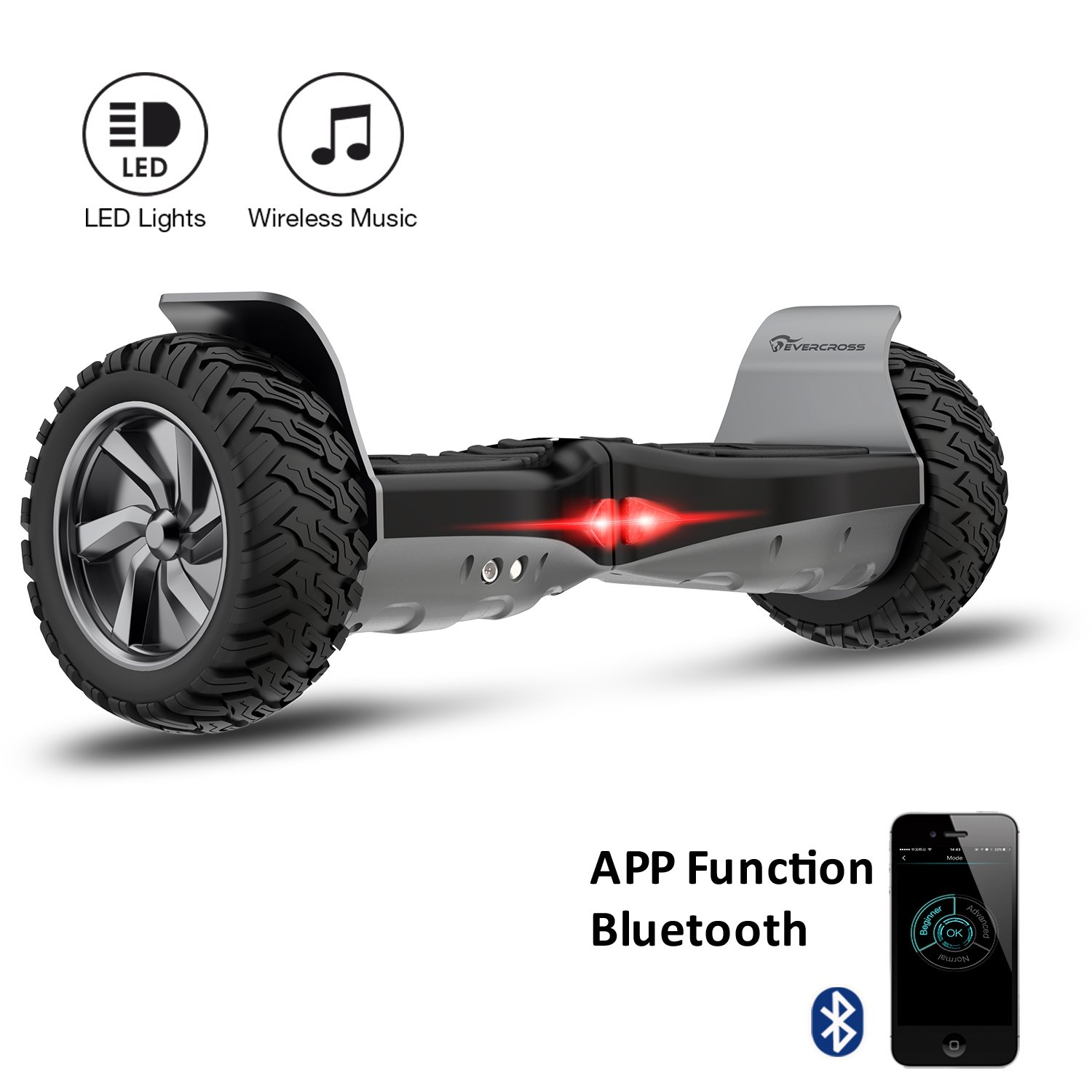 EVERCROSS Challenger Basic Hoverboard Self Balancing Scooter