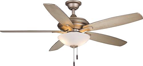 Wind River Fans Modelo Iced Gold Ceiling Fan