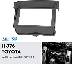 UGAR 11-776 Trim Fascia Car Radio Installation Mounting Kit for Toyota Land Cruiser Prado (150) 2009-2013