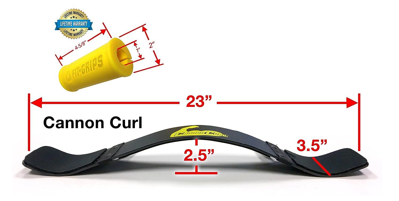 Barra para flexión de bíceps + control de agarre, barra para el entrenamiento de los brazos, entrenamiento de barra más eficaz.: Amazon.es: Deportes y aire ...