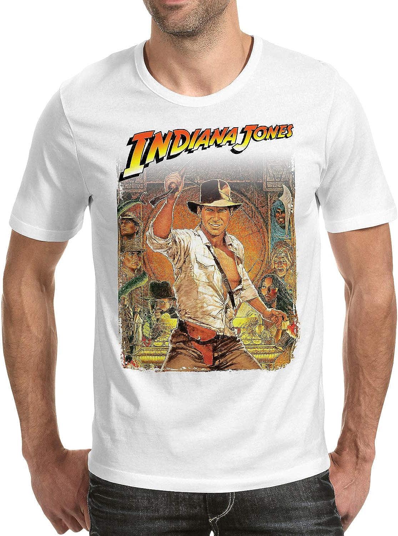 DibuNaif Camiseta Hombre - Unisex Cine Indiana Jones, En Busca del Arca perdida - Steven Spielberg: Amazon.es: Ropa y accesorios