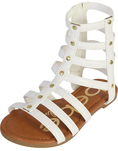 47c3b69136180 bebe Girls Strappy Gladiator Sandal