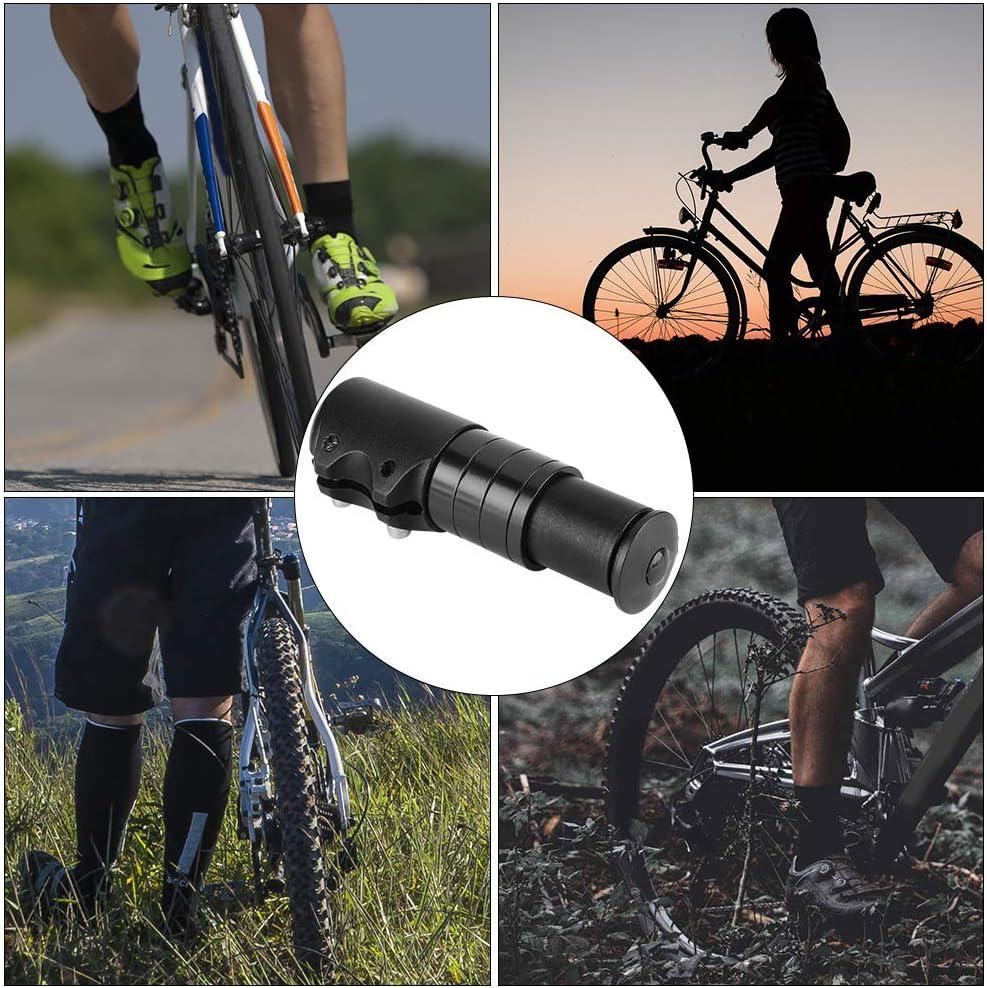 Gcroet Bike Stem Riser Extension Bicycle Handlebar Extensions Bike Fork Stem Extender Bicycle Handlebar Riser Head Up Adapter Suitable For Mountain Bike Road Bike Cycling Black