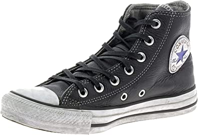 Ninguna café Hito  CONVERSE All Star Limited Edition piel negra hombre mujer invierno  MainApps: MainApps: Amazon.es: Zapatos y complementos