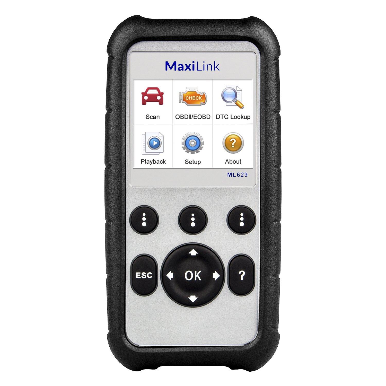 Scanner OBD2 pour moteur lecteur de code derreur de loutil de diagnostic OBDII Version am/élior/ée de MD802 syst/èmes complets airbag ABS transmission EPB remise en service Autel MaxiDiag MD805