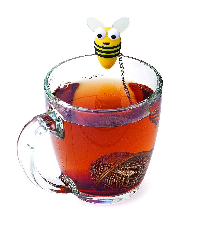 MSC International 11040 Joie Quack Duck Floating Tea Infuser, 18/8 Stainless Steel Infuser