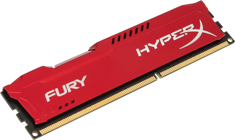 Hyperx Hx313c9fr 8 Fury Rot Arbeitsspeicher Ddr3 8gb Computer Zubehör