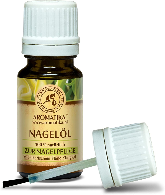 Aceite para Uñas 10ml - Aceites Puro 100% Naturales de Limón - Jojoba y Semilla de Uva - Aceite para Uñas Secas y Quebradizas - Crecimiento y Fortalecimiento de las Uñas - Aceite para Cutículas