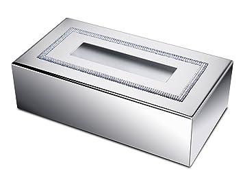 W-Luxury shinelight Rechteckige Taschentuchbox Tablett ...