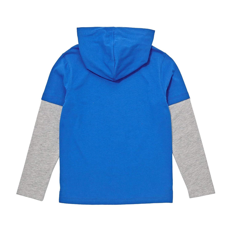 Animal Boys Youths Fargo Long Sleeve Hooded T-Shirt