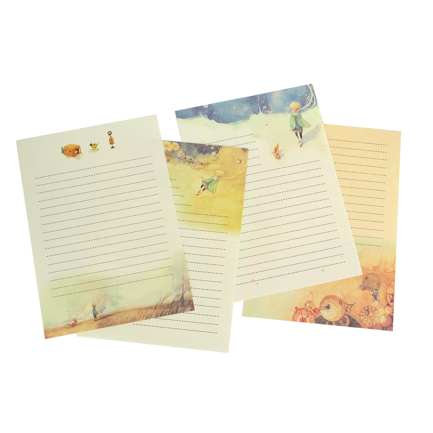8/ different Style Style-10 Funcoo 64/ retro design writing Stationery Paper Pad Letter set