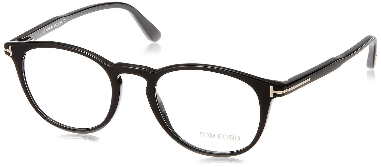 169bded95db Amazon.com  Tom Ford FT 5401 Black 49 20 145 Unisex Eyewear Frame  Watches