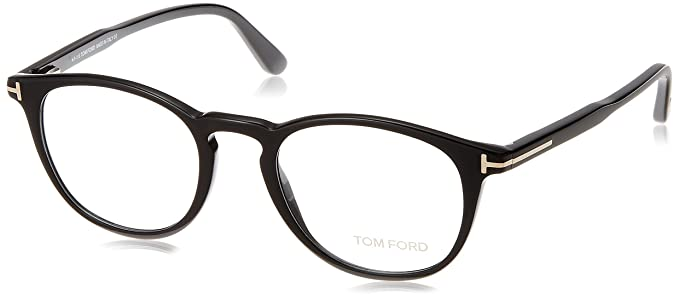 1c86ac51561 Amazon.com  Tom Ford FT 5401 Black 49 20 145 Unisex Eyewear Frame  Watches
