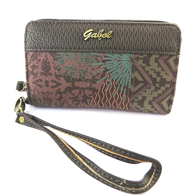 Cartera Gabolmarrón multicolor - 15x9x3 cm.: Amazon.es ...