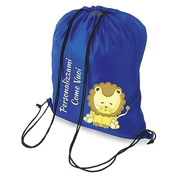My Custom Style® Saco Bolsa Mochila a hombro personalizado Come Vuoi, de cm 34: Amazon.es: Hogar