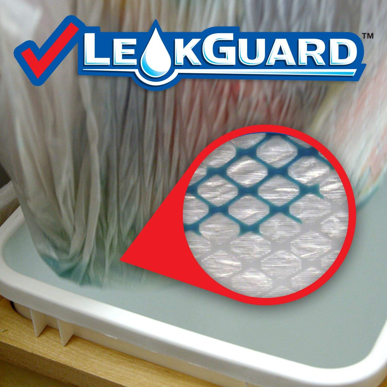 80 Count Glad Tall Kitchen Drawstring Trash Bags ForceFlexPlus 13 Gallon White Trash Bag OdorShield