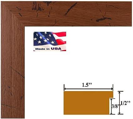 Amazon.com - US Art 16x23 Distressed Oak Faux Finish Distressed ...
