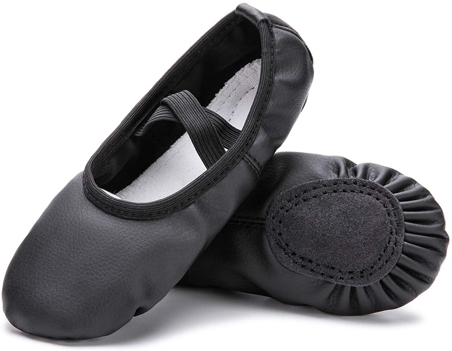 Leather Yoga Shoes//Ballet Slippers for Dancing8 Toddler Nude RoseMoli Ballet Shoes for Girls//Toddlers//Kids//Women
