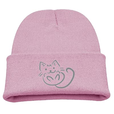 Abstract Cute Cat Infant Toddler Baby Soft Cute Lovely Newborn Kids Hat Beanies Caps For Baby Boys Girls