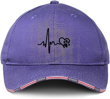 Custom Baseball Cap Love Dog Paw Lifeline Style A Embroidery Strap Closure