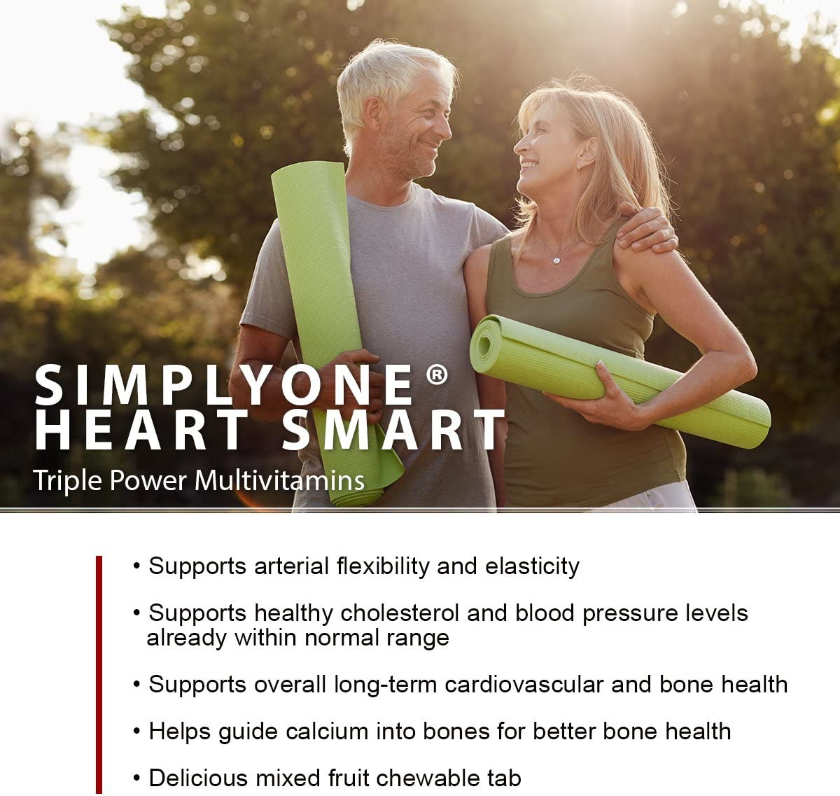 SuperNutrition SimplyOne Heart Smart, 60 Count