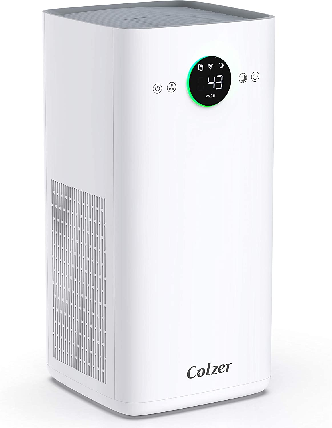 COLZER KJ580 Air Purifier with True HEPA Air Filter, Intelligent Wi-Fi App Control, 3-Stage Filtration, for Spaces Up to 1100 Sq Ft, Perfect for Bedroom/Home/Office with Filter: Home & Kitchen