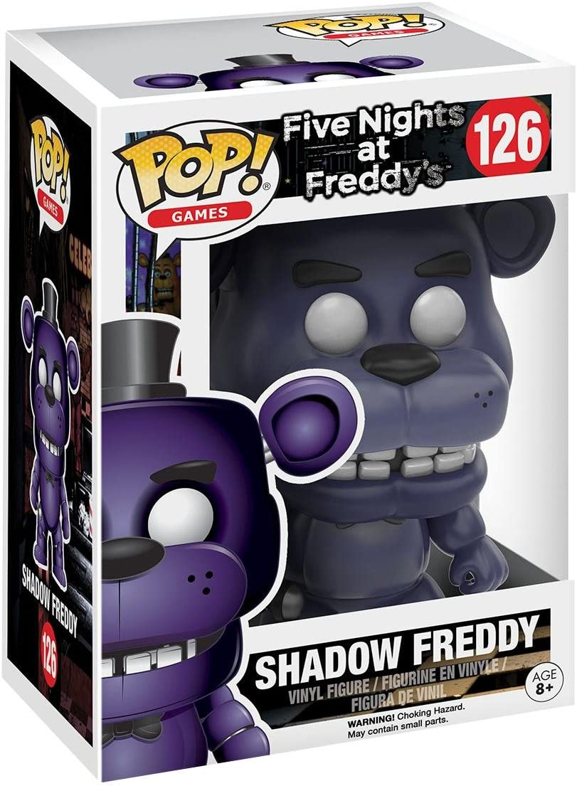 Figura Pop Five Nights at FreddyS Shadow Freddy Exclusive: Amazon.es: Juguetes y juegos