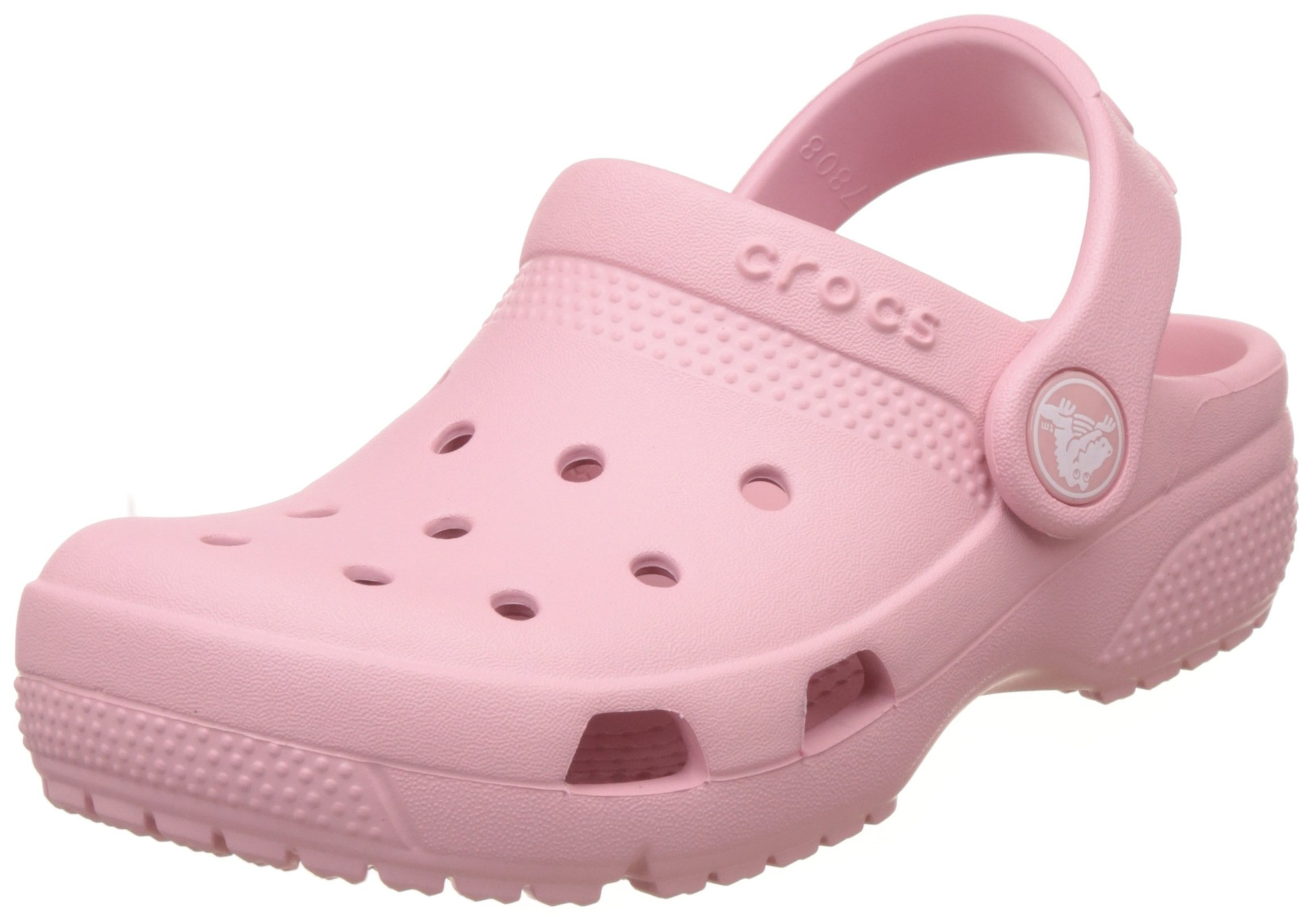 Crocs Kids Unisex Coast Clog (Toddler/Little Kid) Petal Pink 11 M US Little Kid by Crocs (Image #1)