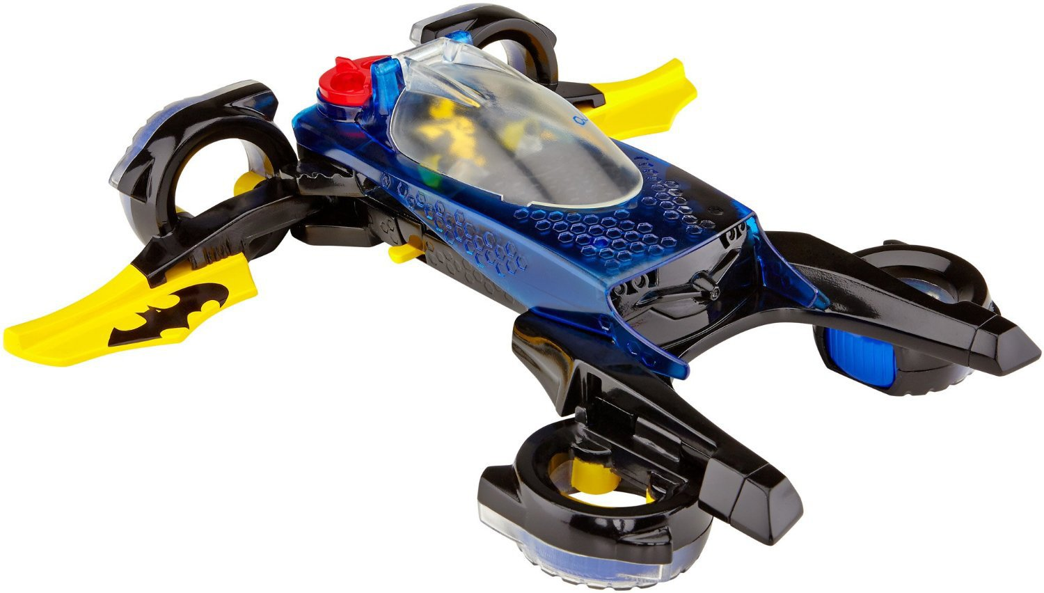 Fisher-Price Imaginext DC Super Friends, Transforming Batmobile Fisher Price Mattel CLP22