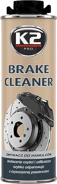 K2 Bremsen Reiniger Mit Duft Reinigt Sauber Ohne Rückstände Teilereiniger Ohne Schädlichen Lösungsmittel Dose 1 L Auto