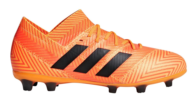 adidas Kid's Nemeziz 18.1 Firm Ground Soccer Cleats B07DF615N4 3.5 D(M) US|Energy Mode