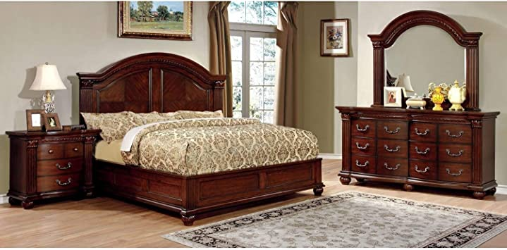 Amazon Com Furniture Of America Vayne I 4 Piece Traditional