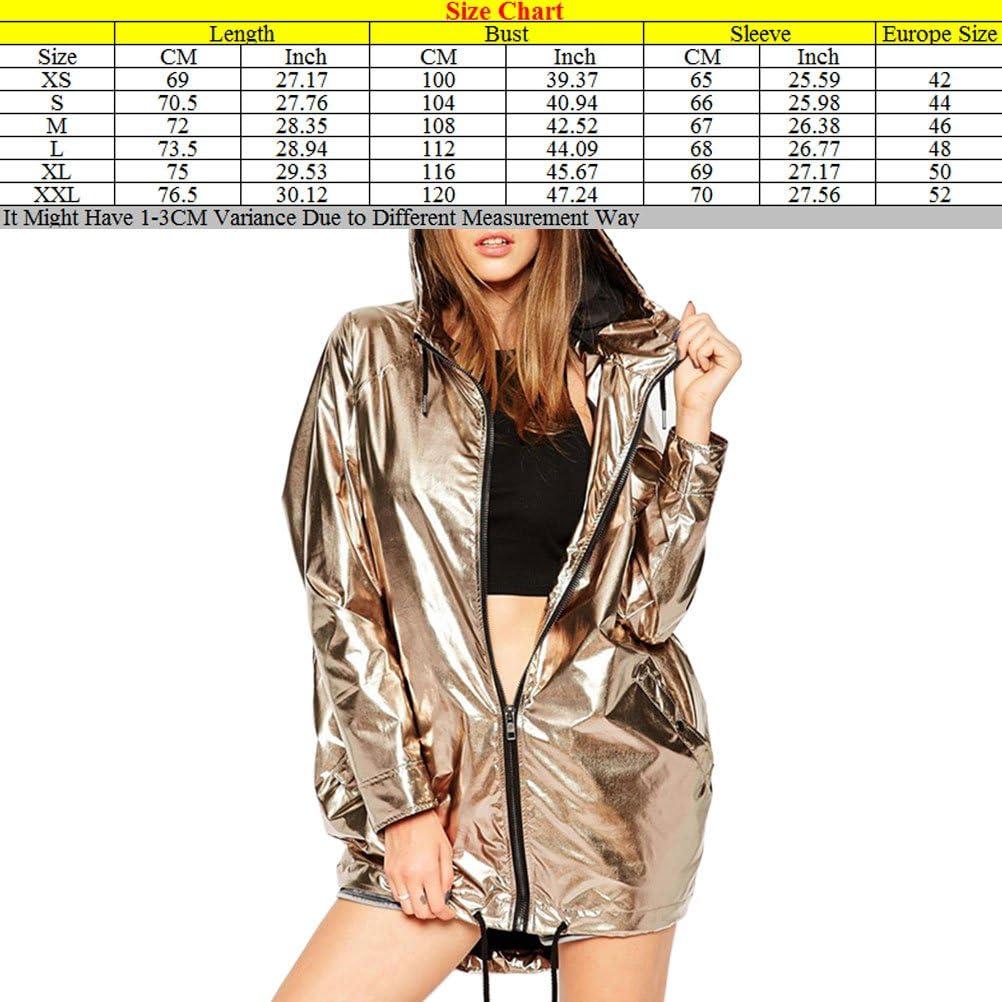 Zhuhaitf Womens Characteristic Jacket Coat Charming Oblique Tethers Gold Cardigan