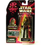 Star Wars Episode I: The Phantom Menace, Captain Tarpals with Electropole Action Figure, 3.75 Inches