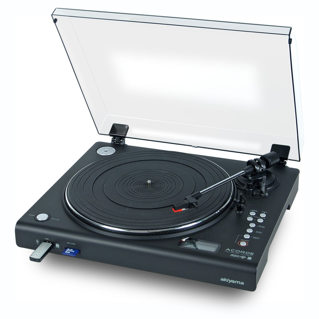 Akiyama Acorde - Giradiscos automático (con reproducción y grabación a USB/SD)