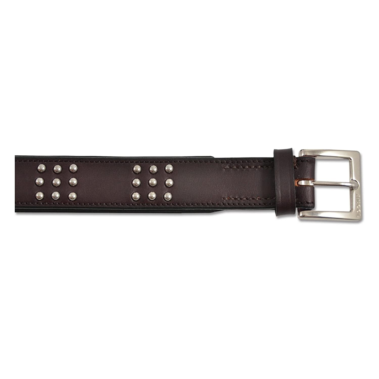 Ancol Pet Products Big Dog Vintage Leather Collar (29.5in) (Russet)
