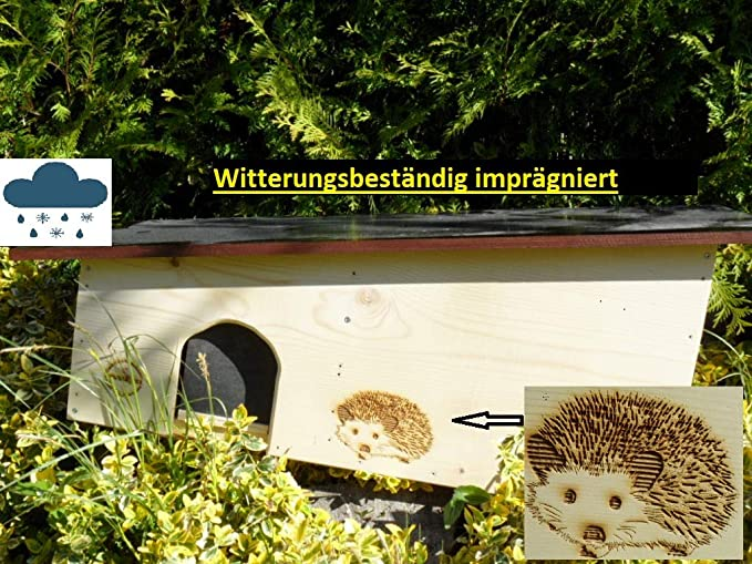 Igelhaus Igel Haus Igelhotel Bestseller - XXL Igelhaus