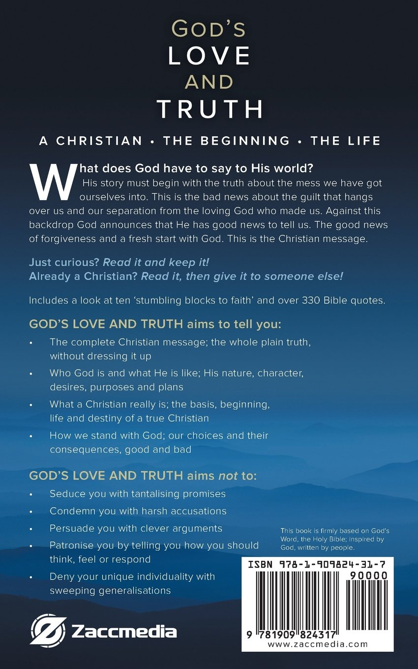 Buy Gods Love And Truth The Christian Message Book Online At Low
