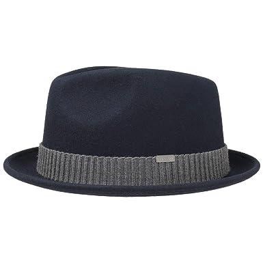 747ed48a93196 Stetson Carlisto Player Hat Wool Felt Hat Men at Amazon Men s Clothing store