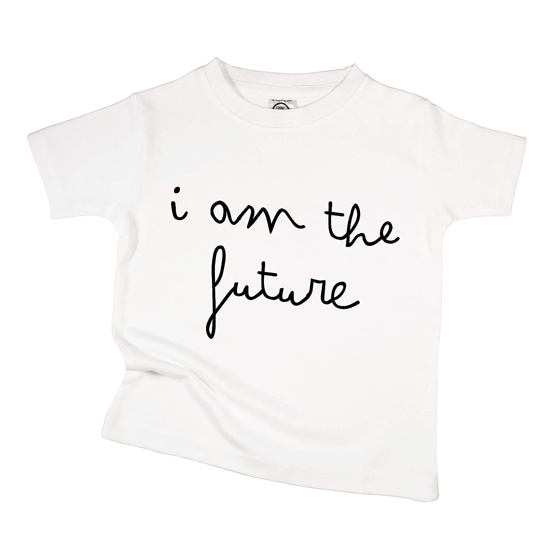 The Spunky Stork I Am The Future Organic Cotton Toddler T Shirt